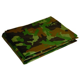 Foremost Dry Top Tarp Camouflage 41216 12' X 16' Green Tarp