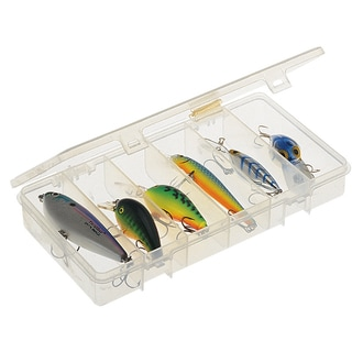 Plano 3450-46 6 Compartment Clear StowAway Organizer
