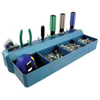Crawford PT16 4 Bin Pegboard Tool & Parts Tray
