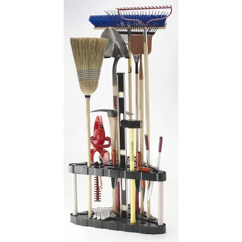 Rubbermaid Corner Tool Tower 19 in. L x 20 in. H x 32 in. W