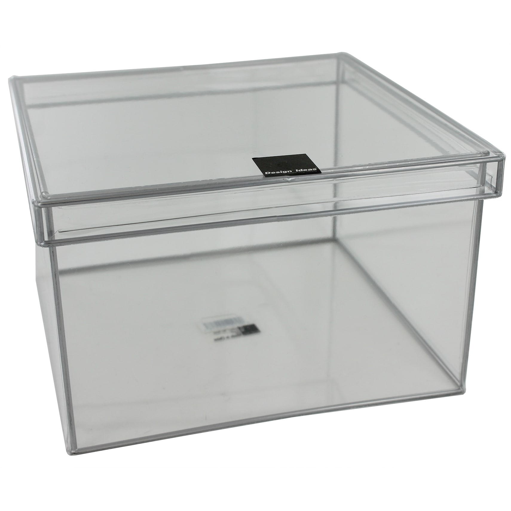 Design Ideas 165351 Extra-Large Clear Storage Box (Closet...