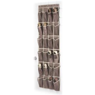 Whitmor 6351-1253-JAVA Over The Door Shoe Organizer