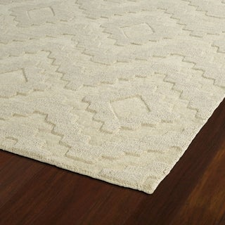Hand Tufted Lascar Sand Wool 2 6 X 8 Free Shipping
