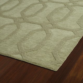 Trends Sage Pop Wool Rug (2'6 x 8')