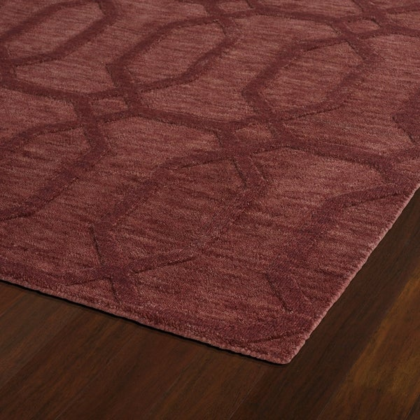 Trends Cinnamon Pop Wool Rug (2'6 x 8'0) - 2'6 x 8'