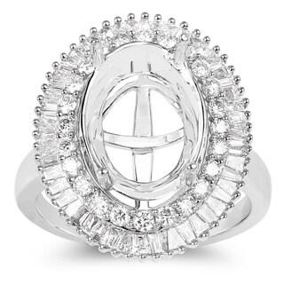 Olivia Leone 14k White Gold 1ct TDW Diamond Ring (G-H, SI1-SI2)