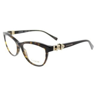 Coach Dark Tortoise Plastic Cat-eye 53-millimeter Eyeglasses