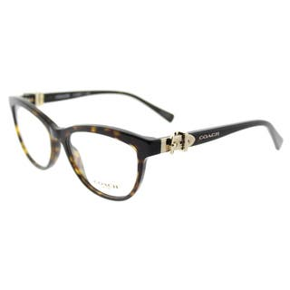 fb86800d2e5 Coach Dark Tortoise Plastic Cat-eye 53-millimeter Eyeglasses