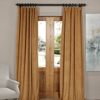 EFF Exclusive Fabrics Signature Velvet Blackout Curtain