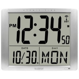La Crosse Technology BBB87269 20-inch Extra-large Digital Atomic Wall Clock