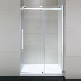 OVE Decors Sierra 48 Chrome Glass/Acrylic Frameless Shower Kit|https://ak1.ostkcdn.com/images/products/12801968/P19572118.jpg?impolicy=medium
