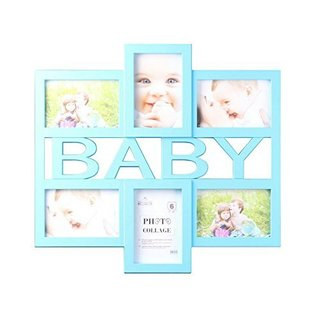 Pink Baby Collage 4 Inch X 6 Inch Photo Frame Free
