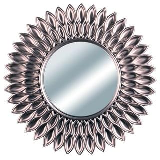 Sunflower Decorative 24-inch Wall Mirror