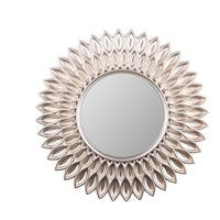 Wee's Beyond Sunflower 24-inch Decorative Wall Mirror