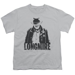 Longmire/One Color Short Sleeve Youth 18/1 in Silver
