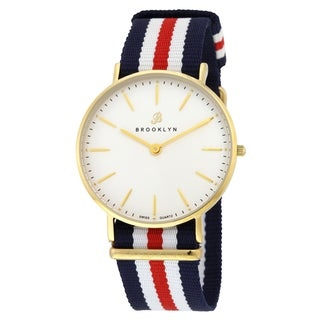 Brooklyn Watch Co. Flatland Casual Super Slim Watch