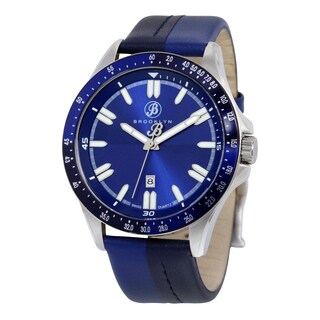 Florence Blue Leather Shaded Casual Dial Watch
