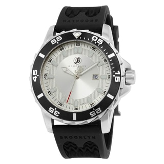 Waterbury Sports Diver Silvertone Dial Watch