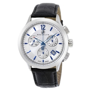 Brooklyn Watch Co. Men's Dakota Swiss Quartz Chronograph Watch