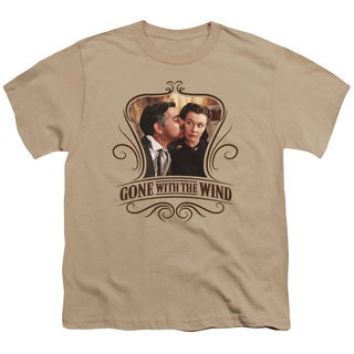 Gone With The Wind/Kissed Short Sleeve Youth 18/1 Sand