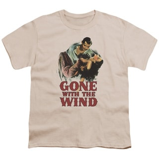 Gone With The Wind/My Hero Short Sleeve Youth 18/1 Cream