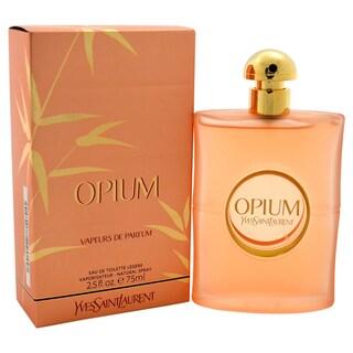Yves Saint Laurent Opium Vapeurs de Parfum Women's 2.5-ounce Eau de Toilette Legere Spray