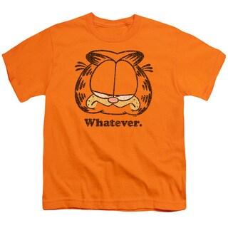 Garfield/Whatever Short Sleeve Youth 18/1 in Orange