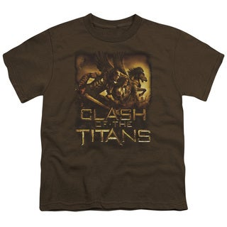 Clash Of The Titans/Heroes Short Sleeve Youth 18/1 in Coffee