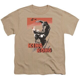 King Kong/ Red Skies Of Doom Short Sleeve Youth 18/1 Sand