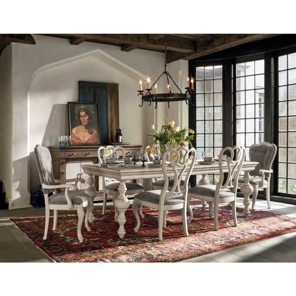 Amazing Off White Dining Table Part - 8: Universal Elan Off-white Wooden Dining Table