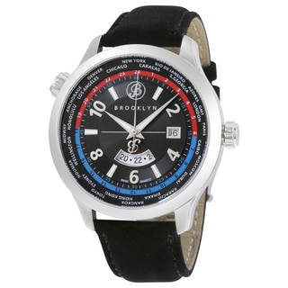 Brooklyn Watch Co. Cadman Men's Casual GMT Watch