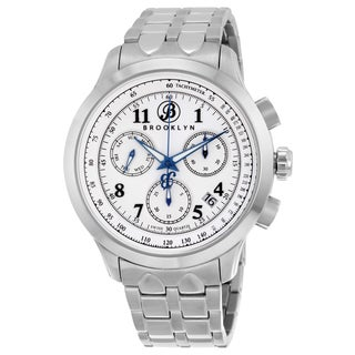 Brooklyn Casual Prince Stainless Steel Chronograph Watch