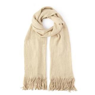 Echo Design Womens Extra Soft Beige Milk Acrylic Muffler