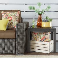 Matira Metal Patio Accent Side Table iNSPIRE Q Oasis
