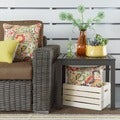 Matira Metal Patio Accent Side Table by NAPA LIVING