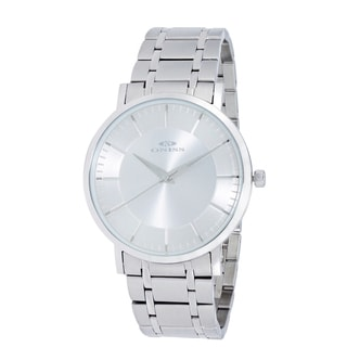 Oniss Paris Men's All Stainless Steel Swiss Quartz Watch