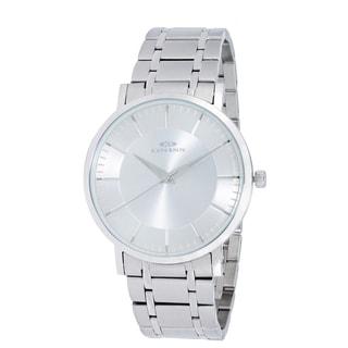 Oniss Paris Men's All Stainless Steel Swiss Quartz Watch