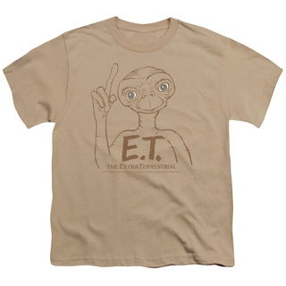 ET/Pointing Short Sleeve Youth 18/1 Sand