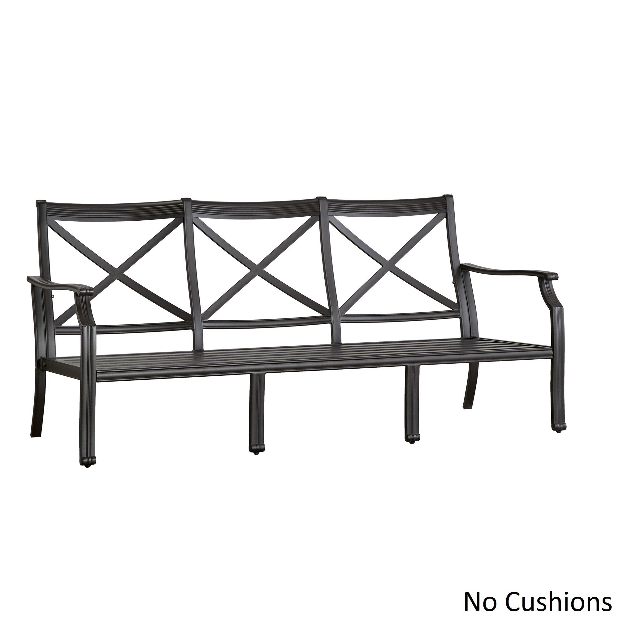 Metal outdoor sofa - Picture 6 Of 30