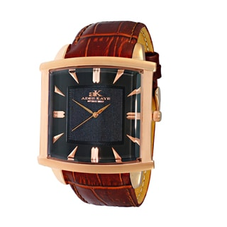 Adee Kaye Swiss Classic Men's 2-layer Watch