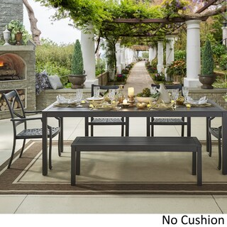Matira Metal Outdoor 84-inch Rectangular Dining Set iNSPIRE Q Oasis (More options available)