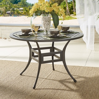 Matira Metal Outdoor Round Bistro Table by NAPA LIVING