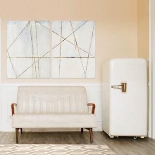 Renwil 'Delinea II' Unframed Canvas Wall Art