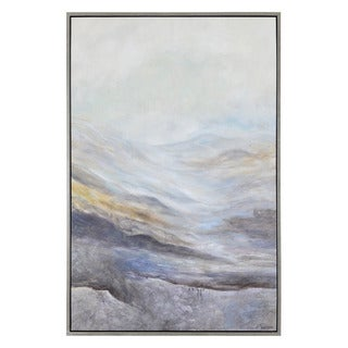 San Jacinto' Multicolored Canvas Framed Landscape Art