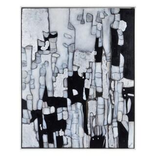 Subterrene' Framed Canvas Art