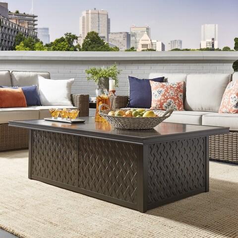Matira Metal Outdoor Concrete Coffee Table iNSPIRE Q Oasis