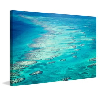 Marmont Hill - 'Ocean Rocks' Painting Print on Wrapped Canvas