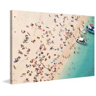 Marmont Hill - 'Boat Party' Painting Print on Wrapped Canvas
