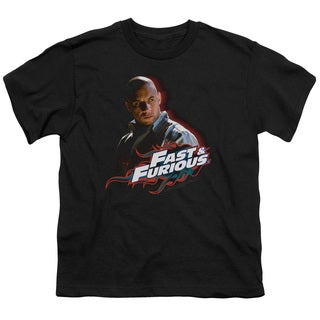 Fast & Furious/Toretto Short Sleeve Youth 18/1 in Black