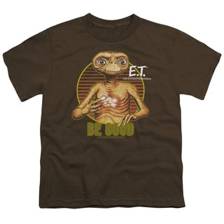 ET/Be Good Short Sleeve Youth 18/1 in Coffee